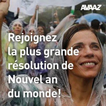 Un engagement pour 2015 proposé par Avaaz