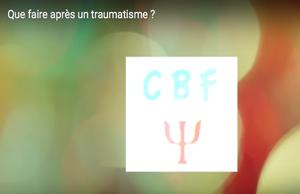 Que faire après un traumatisme ?
