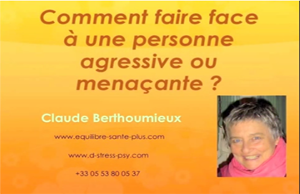 Comment faire face a une personne agressive copy